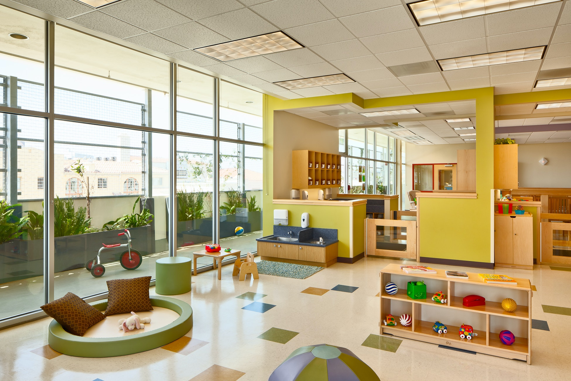 Modern Childcare Facility For 215 Students + Staff. Early Childhood  Development Design Program. Vibrant