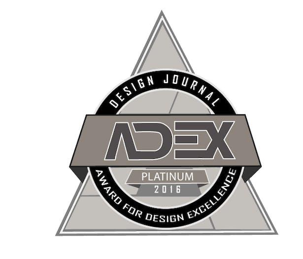 2016 ADEX Platinum Award winner