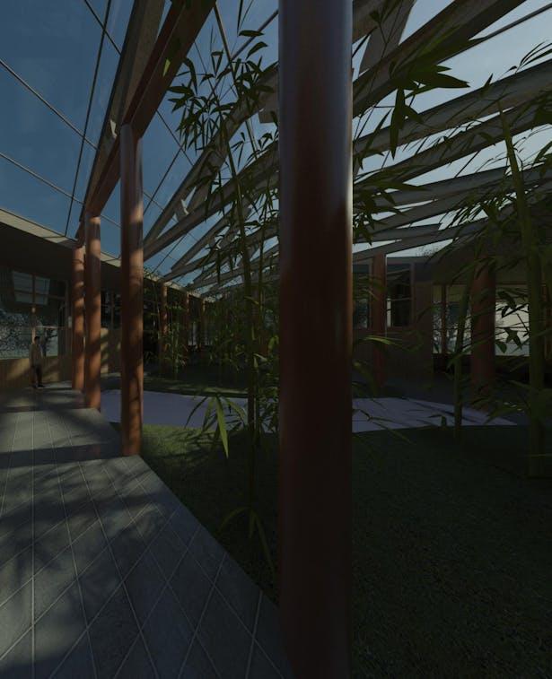 Tea Spa Bamboo Atrium