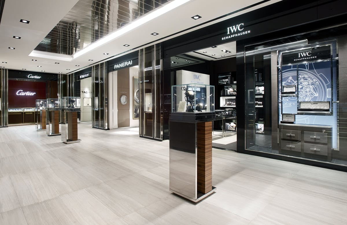 Watches Of Switzerland Regent Street Flagship Leslie Ann Chiu Archinect