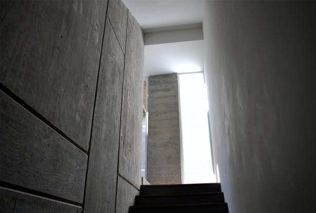 Stairs (concrete wall detail)