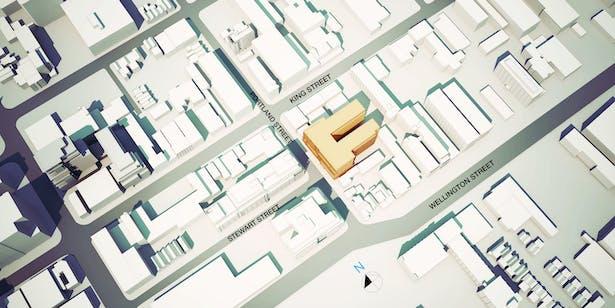 Seventy5 Portland Site Plan