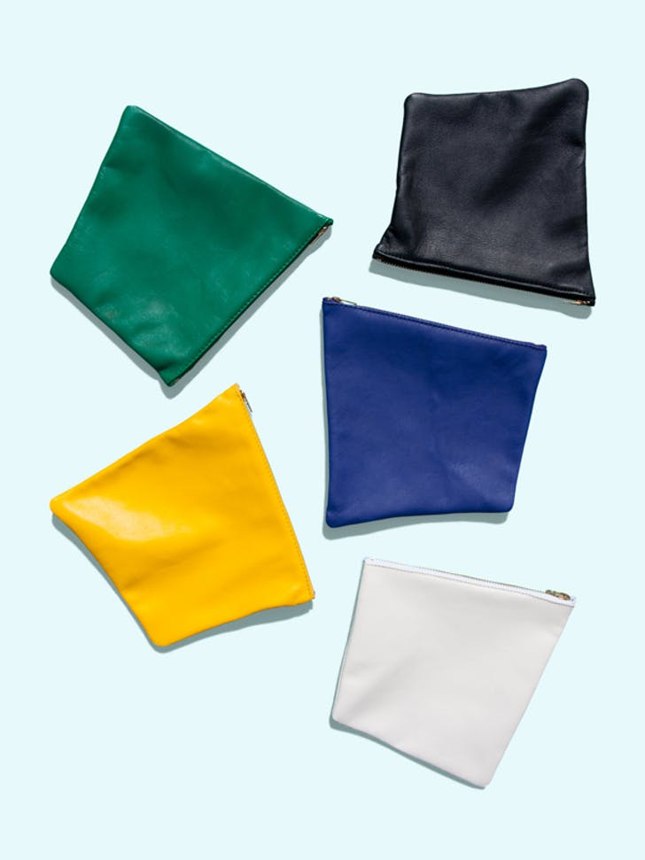 Otaat / Myers Collective square pouch. Image courtesy of Otaat / Myers Collective.