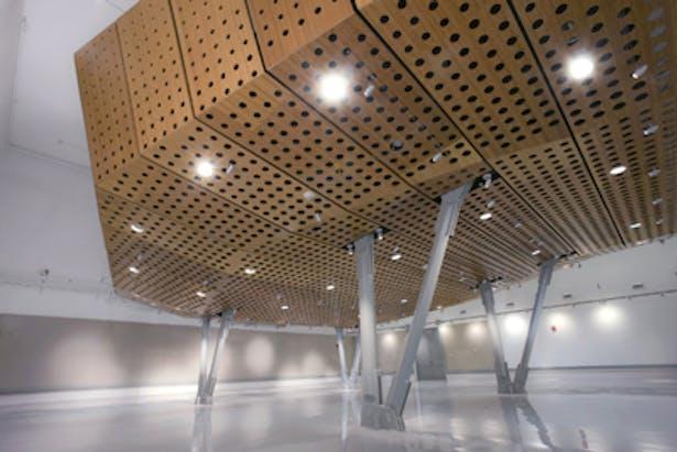 Auditorium and Gallery