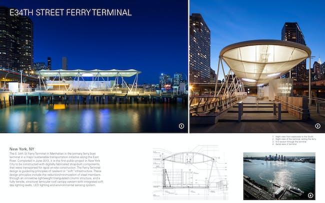 the East River Public Ferry Terminal in Manhattan. Image via rupp.ced.berkeley.edu