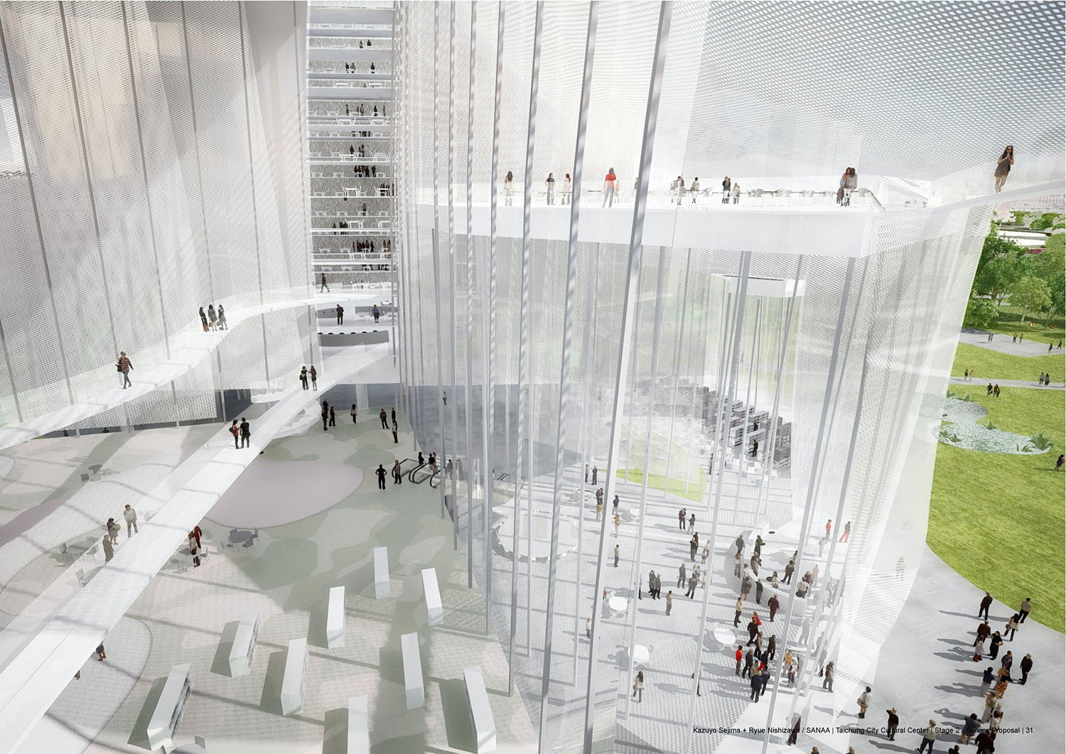 Sanaa Architekten Homepage sanaa wins taichung city cultural center competition
