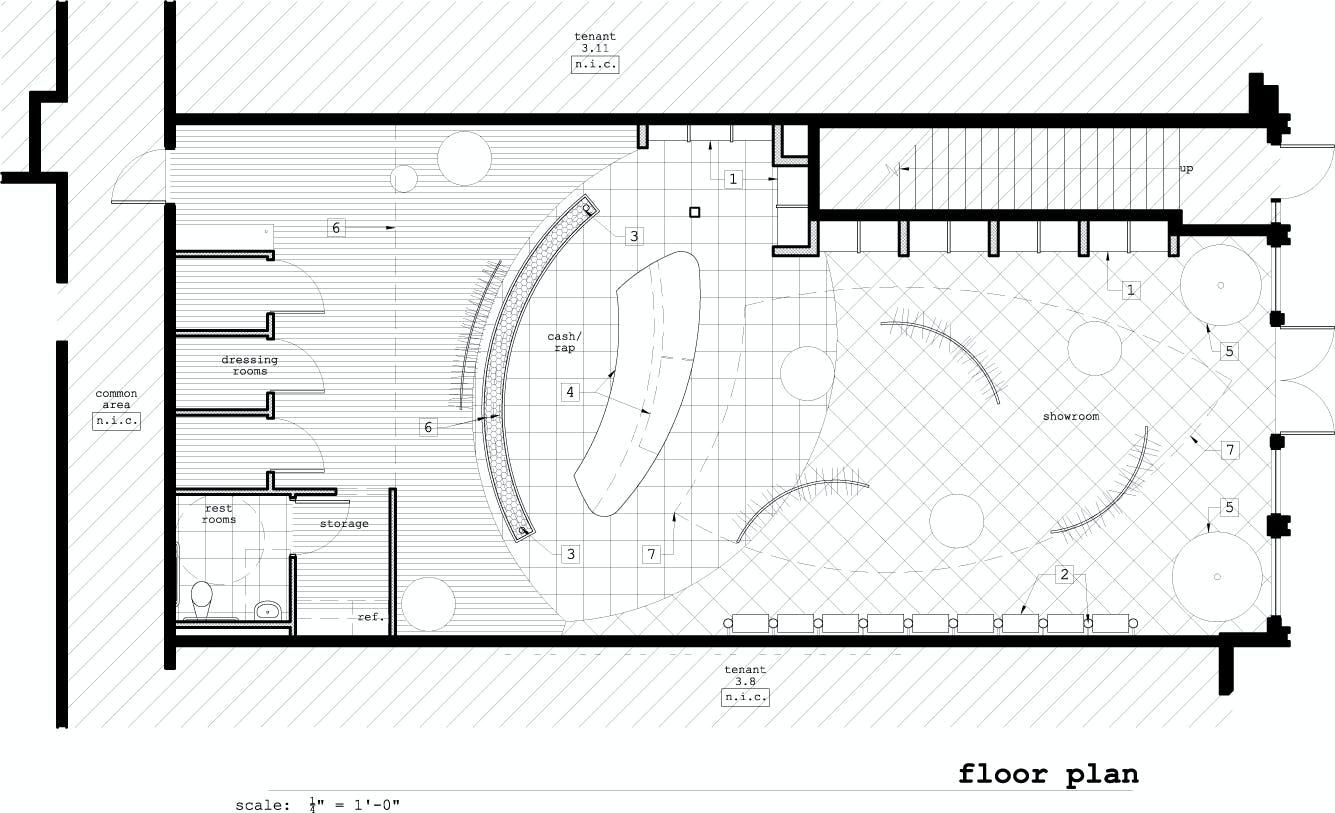 Madison Bleu Retail Store Go Design Archinect