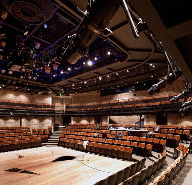 Everyman Theatre, Liverpool by Haworth Tompkins. Photo © Philip Vile
