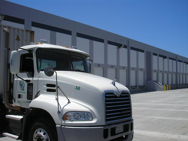 A loading dock was created by demolition of approximately 36,000 square feet of the existing building