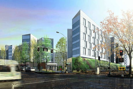 1400 Multnomah multi-family residential with Holst Architecture