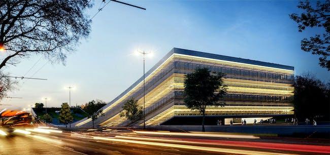 New winning designer of the Budapest Museum of Ethnography: Napur Architect - Ferencz Marcel; Détári György; Ferencz István; Bodonyi Csaba; Rudolf Mihály; Őrfi József; Papp Dávid