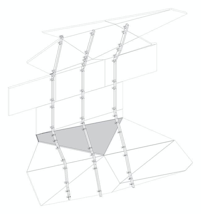 Construction detail, attachment