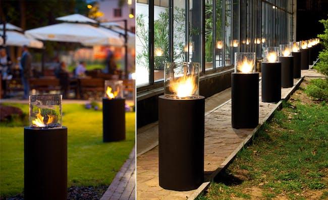 Totem Commerce by Planika, bio fireplace on ethanol