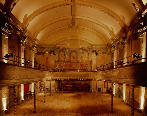 RESTORATION: Wilton's Music Hall, WC1 by Tim Ronalds Architects. Photo: Hélène Binet.