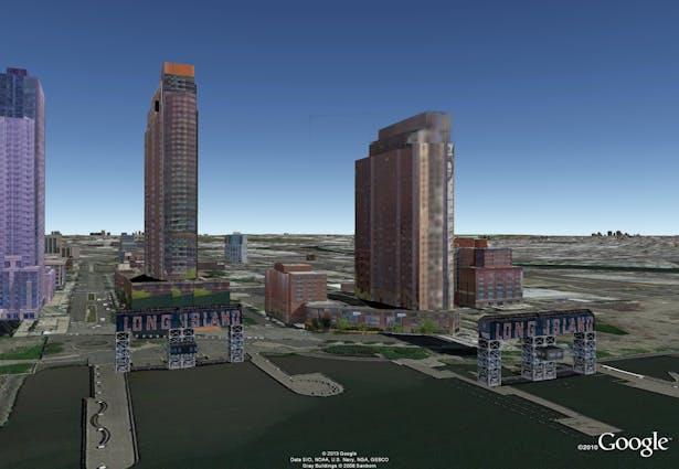 Google Model by J. F. Bautista. LIC, NY
