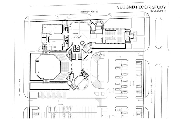 Early Concept - Second Floor