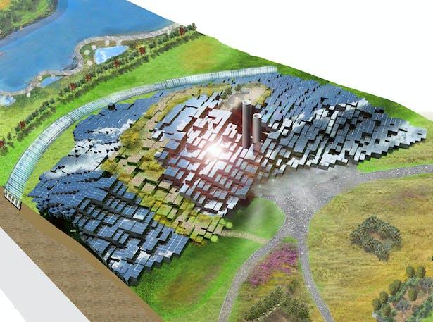 LAGI Solar Mountain