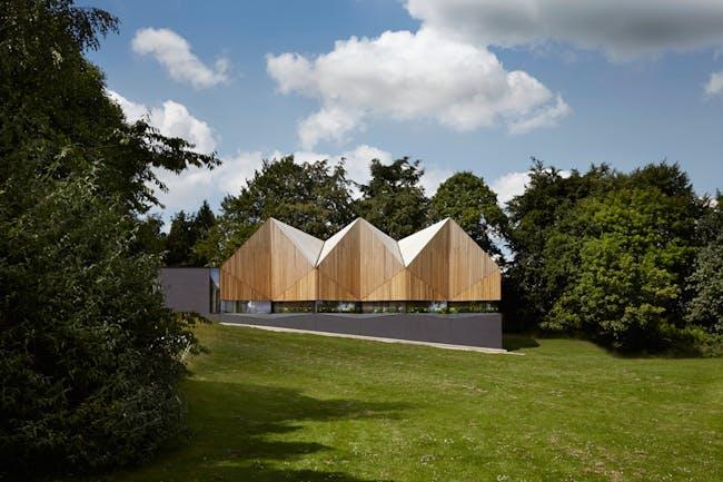 Alfriston School, Beaconsfield by Duggan Morris Architects. Photo © Jack Hobhouse.