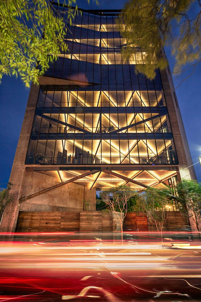2014/2015 MCHAP Finalist: Tower 41 by Alberto Kalach, Mexico City, Mexico. Photo: Yoshihiro Koitani.