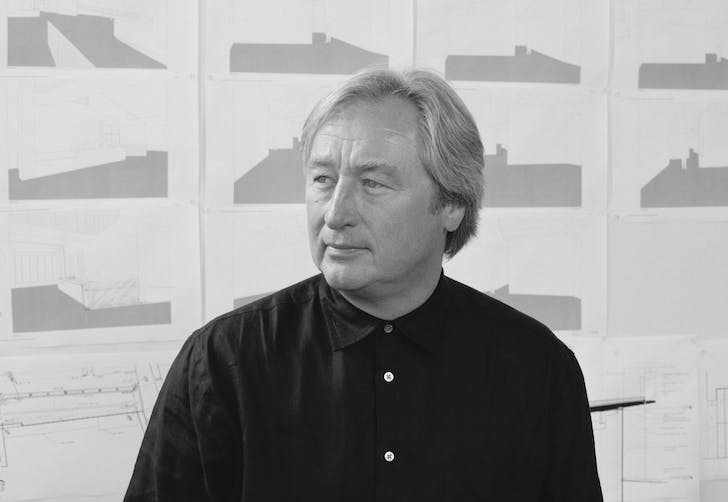 Steven Holl. Photo credit: Mark Heitoff