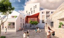 MVRDV's Ilot Queyries blends history + modern sustainable density in Bordeaux, France