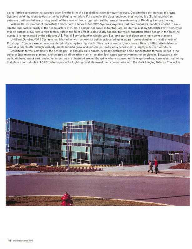 Page 5 - architecture: may 1998