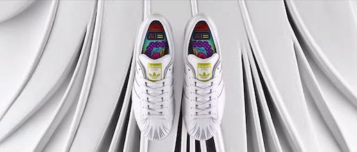Screenshot via 'adidas Originals = Pharrell Williams | Supershell x Zaha Hadid' on youtube.com
