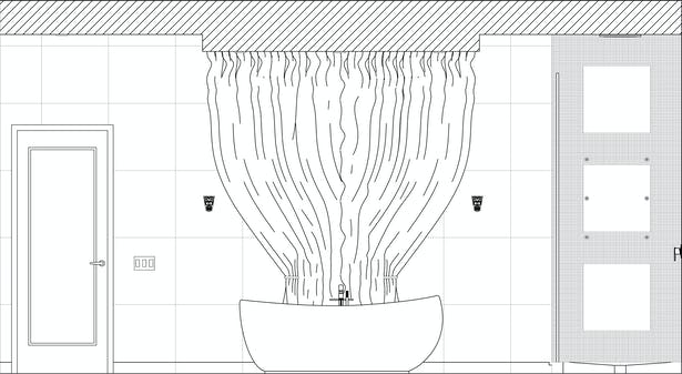 Her Bath Elevation