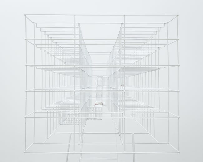 Swiss Art Awards 2013 First-prize winner in Architecture: 'PAROLE - Champ-dollon 1/24' by BUREAU A. Photo: Dylan Perrenoud