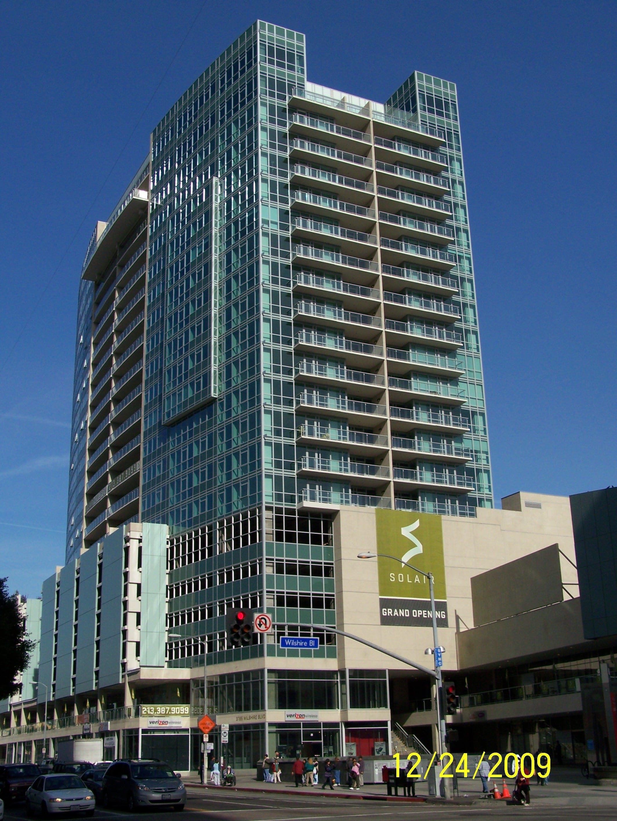 Mixed Use Condominium Solair Jeffrey Weinstein Archinect