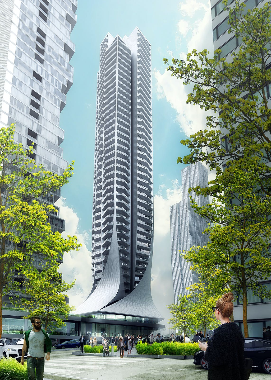 Construction starts for zaha hadid architects 39 bora for Local residential architects near me