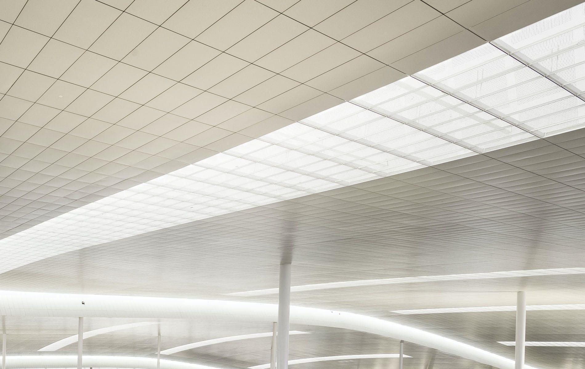 Terminal i at barcelona airport ricardo bofill taller de for La porte city iowa city hall