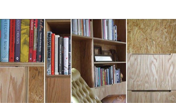 Category 2_ Martha's Book Case_Built_Fabrication by Matt Naugle