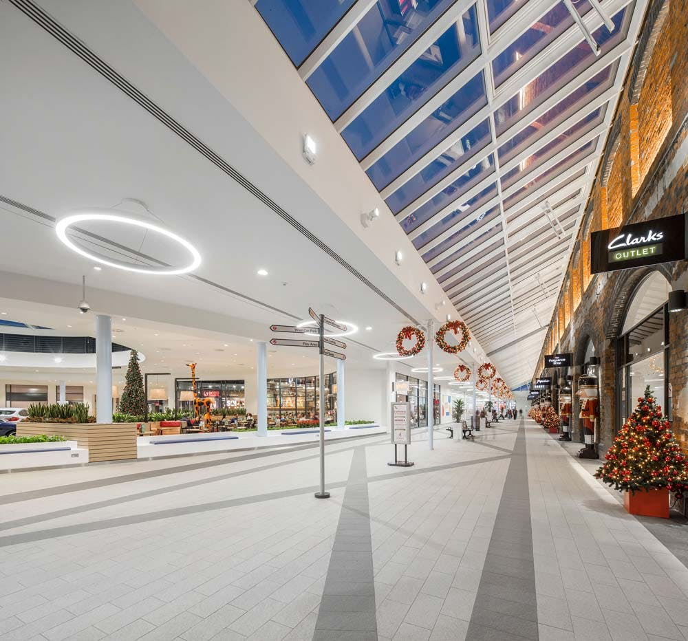 swindon designer outlet pod architects archinect