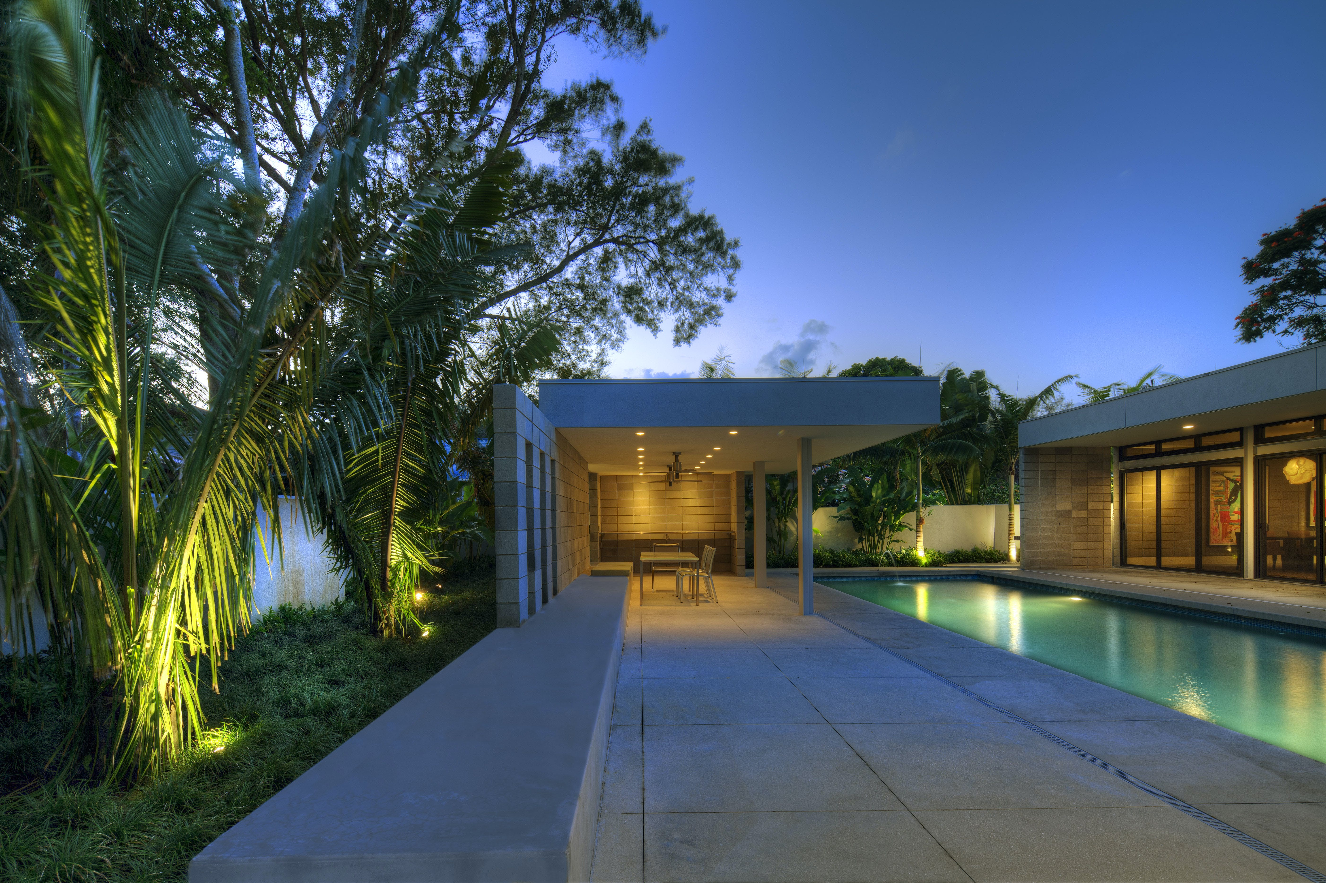 Sarasota Mcm Renovation Dwy Landscape Architects Archinect