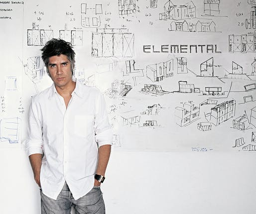 2018 Charles Jencks Award winner: Alejandro Aravena. Photo: Cristobal Palma.