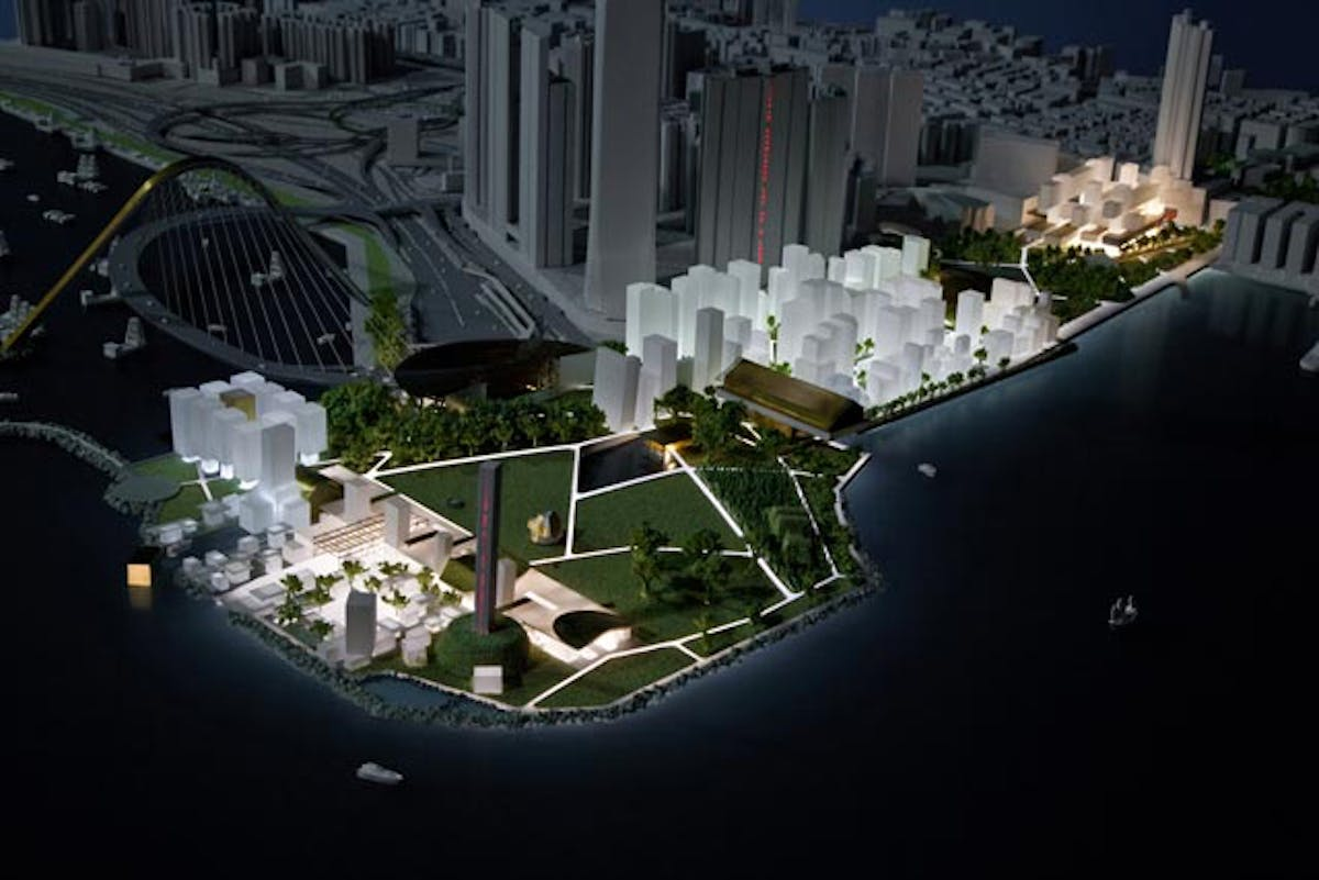 west kowloon cultural district project The west kowloon cultural district (chinese: 西九文化區 jyutping: sai1 gau2 man4 faa3 keoi1 abbreviated wkcd) is a development project that aims to form an international-grade arts and culture hub on an area of land in west kowloon, hong kong that was originally reclaimed in the 1990s as part of the airport core programme.