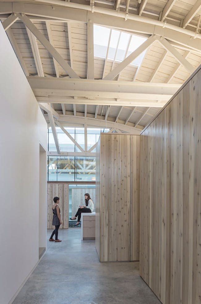 Bowstring Truss House in Portland, OR by Works Partnership Architecture (W.PA)