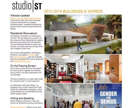 Our latest newsletter http://www.studio-st.com/news.asp