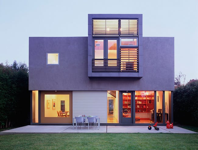 11th Street House (Oonagh Ryan as project manager/architect at Koning Eizenberg). Photo © Benny Chan