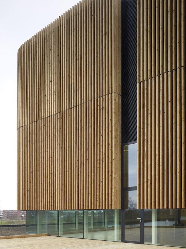 Netherlands Institute of Ecology in Wageningen, the Netherlands by Claus en Kaan Architecten; Photo: Christian Richters