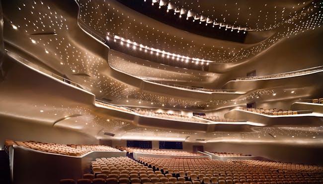 Guangzhou Opera House, Guangzhou (photo by Virgile…on Bertrand)