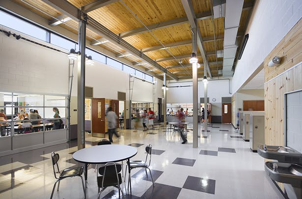 Herget Middle School: Cordogan Clark & Associates with Architecture for Education (A4E): Co-Architects