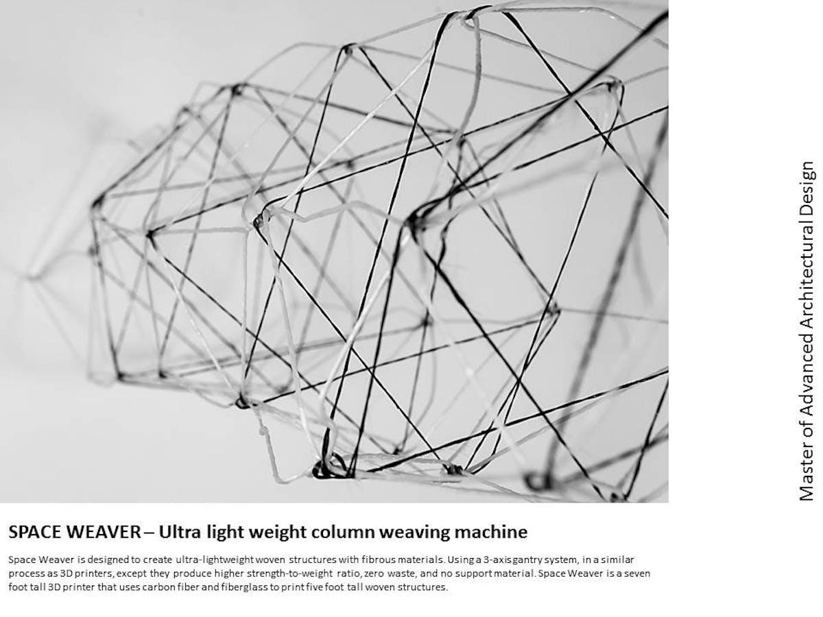 SPACE WEAVER – Ultra light weight column weaving machine | Prerna