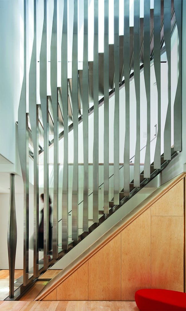 Implied Rotation Townhouse in New York, NY by Dean/Wolf Architects