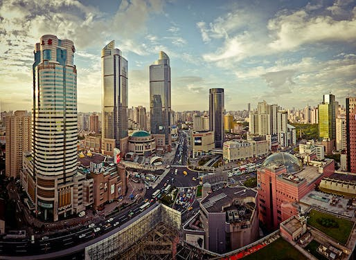 Shanghai's Xuhui district has seen a massive transformation in recent decades. Not all of the original residents had the choice of staying or leaving. (Image via Wikipedia)
