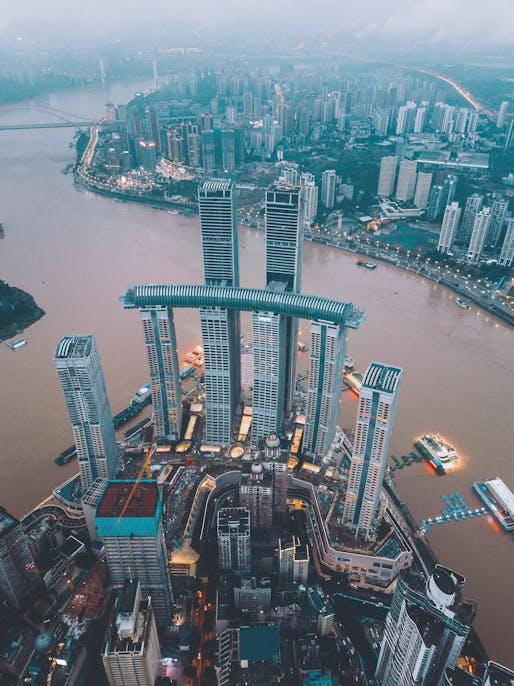 Raffles City Chongqing. Photo: E-Jay Photography, courtesy Safdie Architects.