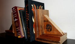 Ray Bradbury's old house has been reincarnated as bookends
