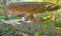 Frank Lloyd Wright's upstate mushroom-shaped house asks $1.5M