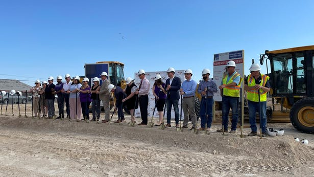VLK Architects Breaks Ground with PBT-ISD on Maintenance Facility